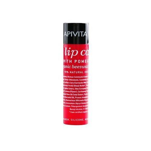 Apivita Lip Care Pomegranate odżywczy balsam do ust (Organic Beeswax & Olive Oil) 4,4 g