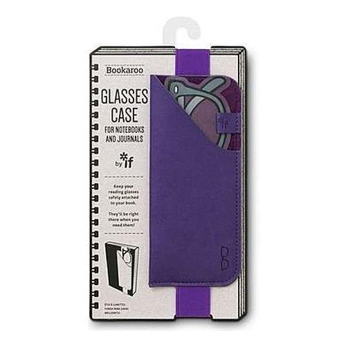 If Bookaroo glasses case uchwyt na okulary fioletowy (5035393412036)
