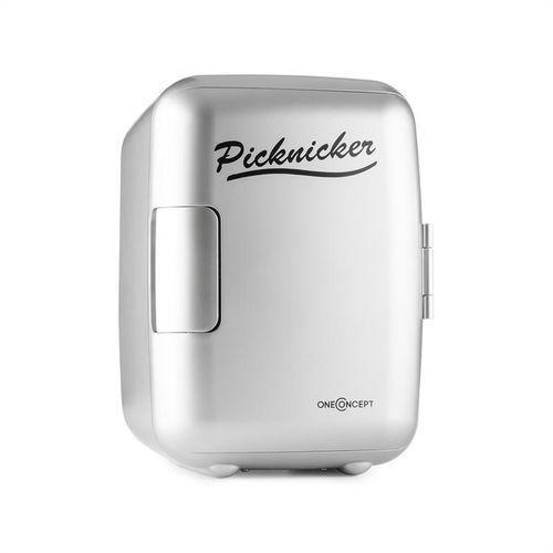 oneConcept Picknicker mini lodówka termiczna chłodzenie 4 litry AC DC AUTO z kategorii Gadżety