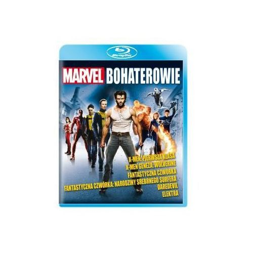 Marvel: Bohaterowie - Kolekcja (Blu-ray) - Johnson Mark Steven, Tim Story