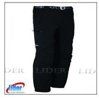 Spodnie trekkingowe męskie MILO VINO - black, kolor czarny