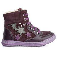 Ponte 20 buty za kostkę dziewczęce 29 fioletowy