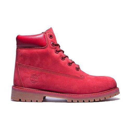 Buty  junior premium 6 inch waterproof classic - czerwony, marki Timberland