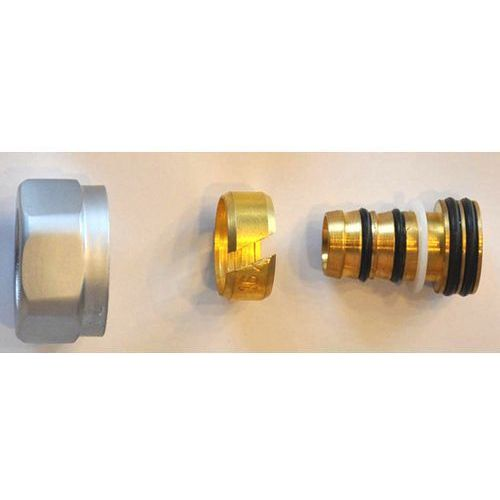 Złączka zaciskowa do rury z tworzywa sztucznego pex gw m22x1,5 - 16x2 6026 00003.02 satyna marki Schlosser
