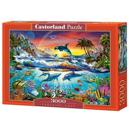 Puzzle 3000 elementów Paradise Cove, 5904438300396_811142_001