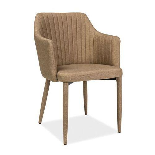Krzesło welton beżowy marki Signal meble