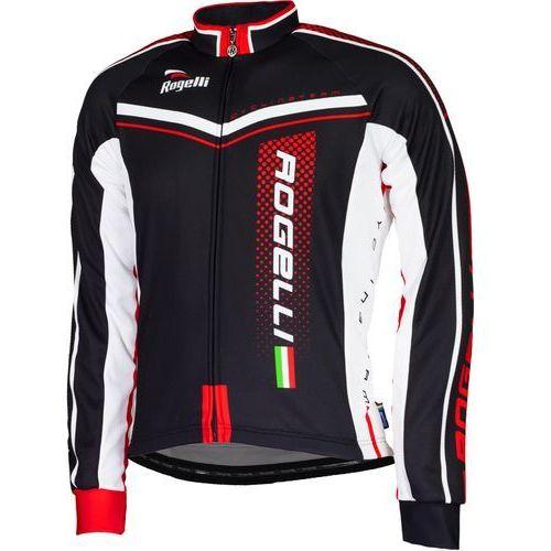 Rogelli Gara Mostro - męska bluza rowerowa (czarno-czerwony)