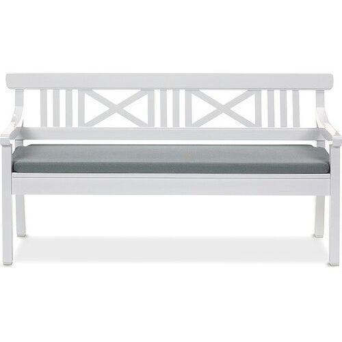Poduszka na ławkę Drachmann 165 cm ciemnoszara, kolor szary