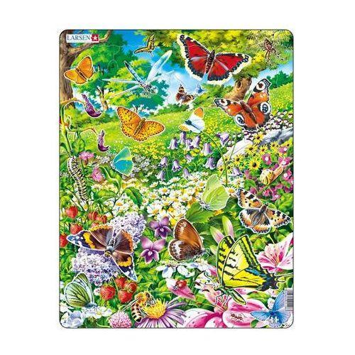 Puzzle maxi - motýli/42 dílků marki Neuveden