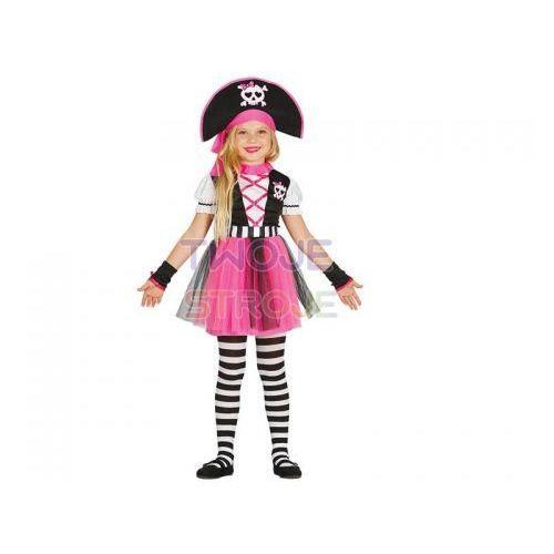 Twojestroje.pl Strój sukienka piratka róż 110-116 (8434077859384)