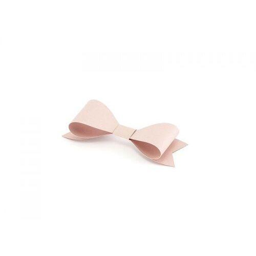 Twojestroje.pl Dekoracje papierowe kokardki pudrowy róż 5.5x2cm (5902230729599)