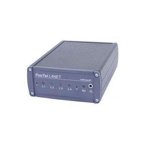 Fontel L4NET/4 Rejestrator rozmów telefonicznych - wersja na 4 linie analogowe