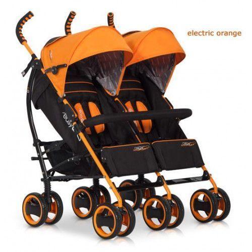 Wózek Bliźniaczy EasyGo Duo Comfort Electric orange