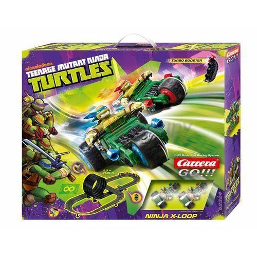 go!!! wojownicze żółwie ninja x-loop marki Carrera