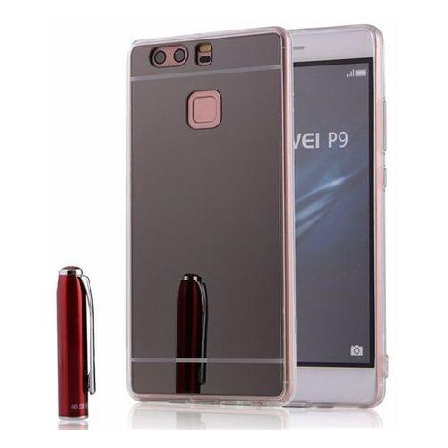 Slim Mirror Case Szary | Etui dla Huawei P9 Plus - Szary