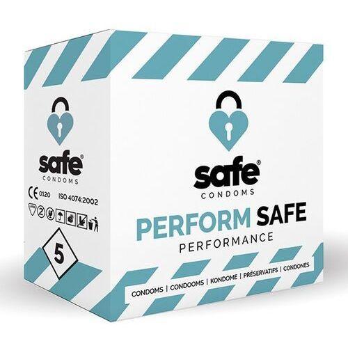 Prezerwatywy opóźniające - Safe Performance Condoms 5 szt (8718801920817)