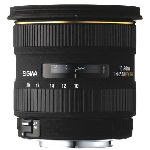 Obiektyw SIGMA AF 10-20/3.5 EX DC HSM Canon + DARMOWY TRANSPORT! z kategorii Obiektywy fotograficzne