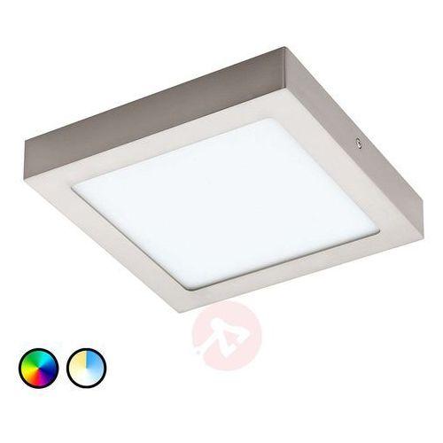 96679 - led plafon fueva-c led/15,6w/230v chrom matowy kanciasty marki Eglo