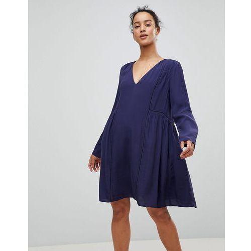 smock dress - navy, See u soon