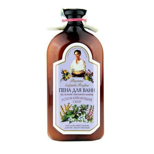 Płyn do kąpieli ziołowy z mydlnicą lekarską - relaksujący, 500 ml - RECEPTURA BABCI AGAFII (4744183013940)