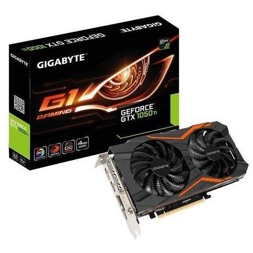 geforce gtx 1050 ti g1 gaming 4g 4gb marki Gigabyte