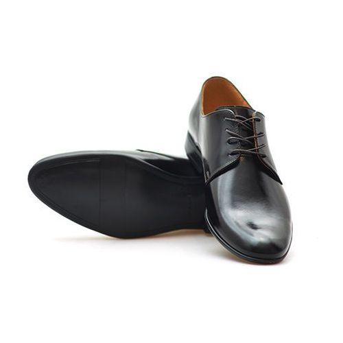 Pantofle Pan 952 Brązowe/Czekoladowe lico, kolor brązowy