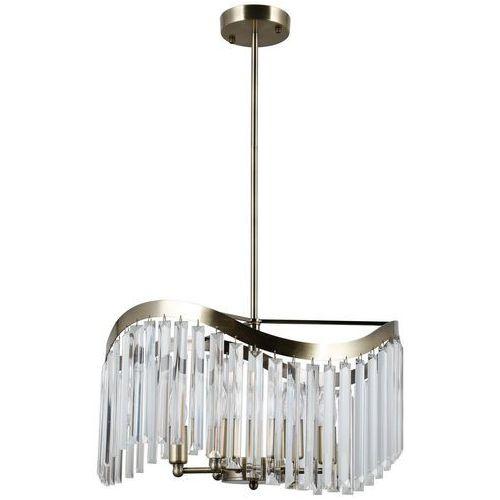 sabriga pnd-44544-6 lampa wisząca zwis 6x40w e14 brąz antyczny marki Italux