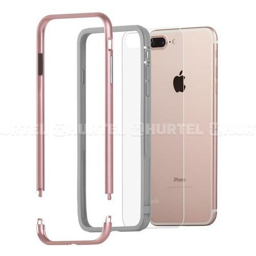 Moshi Luxe - Aluminiowy bumper iPhone 7 Plus (Rose Pink) (4713057250637)