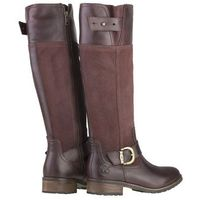 Timberland Bethel Buckle Tall Burgundy Boots 20667