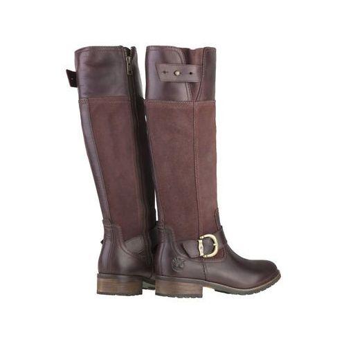 Timberland Bethel Buckle Tall Burgundy Boots 20667