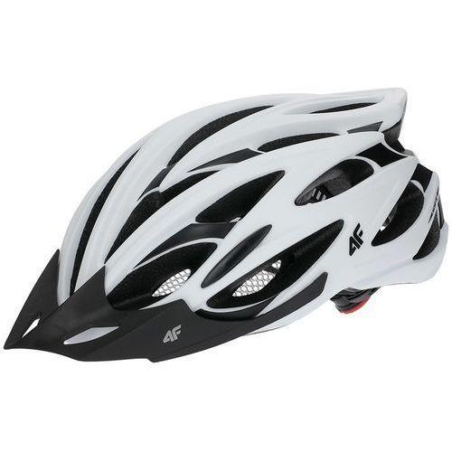 4f Kask rowerowy h4l18 ksr001 l 58-61 cm biały