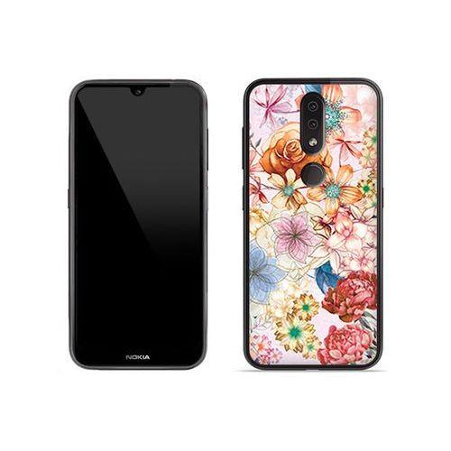 Nokia 4.2 - etui na telefon Fantastic Case - bukiet kwiatów, ETNK904FNTCFC002000