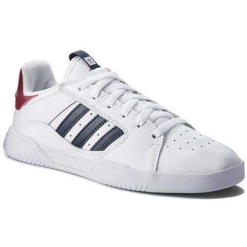 Buty - vrx low b41487 ftwwht/conavy/cburgu marki Adidas