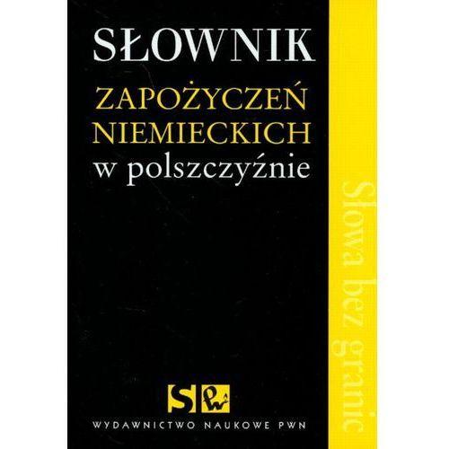 Słownik zapożyczeń niemieckich w polszczyźnie, książka w oprawie miękkej