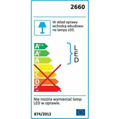 Plafon LAMPA sufitowa LOIS 2660 Rabalux kinkiet OPRAWA okrągła LED 18W 3000K satyna fueva-c