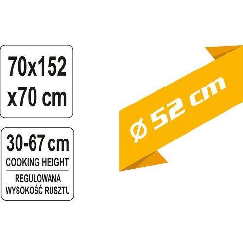 Toya Grill wiszący na trójnogu 52cm / 99524 / - zyskaj rabat 30 zł