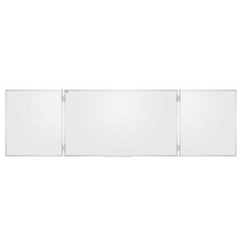 Tablica szkolna biała Tryptyk ceramiczna 170x100 /340x100/ - produkt z kategorii- Tablice szkolne