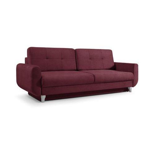 """Sofa """"CALIPSO"""" rozkładana - czerwony, kolor czerwony"""