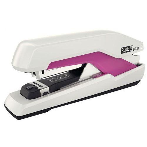Zszywacz Rapid Supreme Omnipress SO30 50-48 biało-różowy