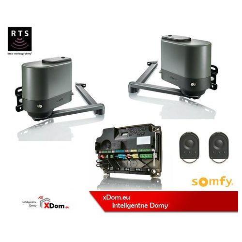 Somfy Brązowa axovia multipro 3s rts 24v standard pack (2 piloty 4-kanałowe keygo)