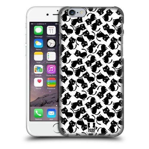 Head case Etui plastikowe na telefon - printed cats black pattern