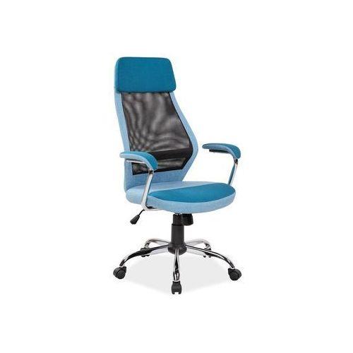 Signal Fotel obrotowy, krzesło biurowe q-336 blue