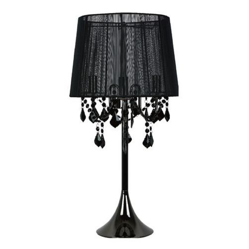 Lampa stołowa MONA czarna E14 LIGHT PRESTIGE (5907796363263)