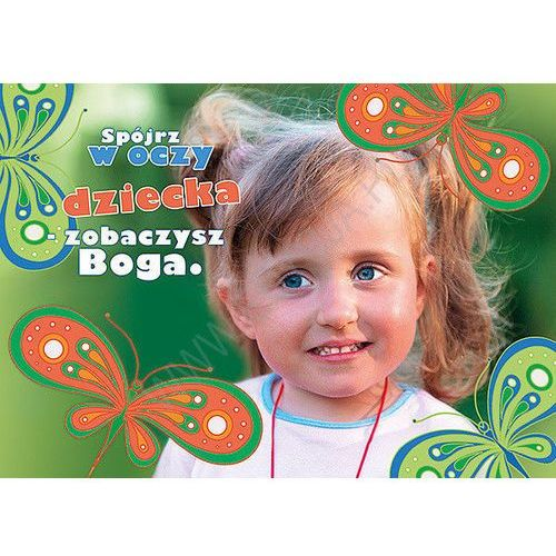 Kartka uśmiech dziecka - spójrz w oczy marki Edycja św. pawła