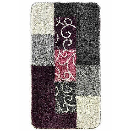 Dywaniki łazienkowe z miękkim tuftowanym runem jeżynowo-szary marki Bonprix