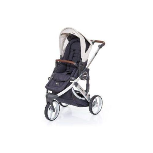 Abc design wózek dziecięcy cobra plus street-sheep, gestell silver / sitz street
