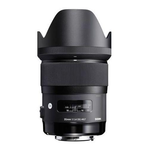 Obiektyw SIGMA A 35/1.4 DG HSM Nikon + DARMOWY TRANSPORT! + Zamów z DOSTAWĄ JUTRO! - produkt z kategorii- Obiektywy fotograficzne