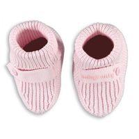 , buciki tkane, różowe, rozmiar uniwersalny marki Baby's only