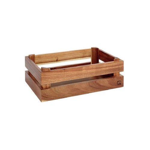 Aps Prezenter bufetowy drewniany gn 1/4 super box akacja