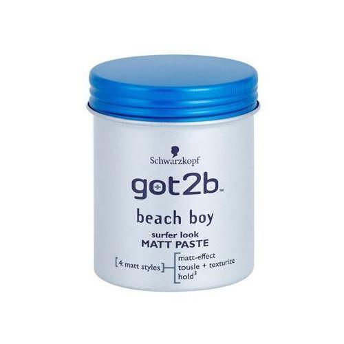 got2b Beach Boy pasta matująca modelujący (Surfer Look Matt Paste) 100 ml